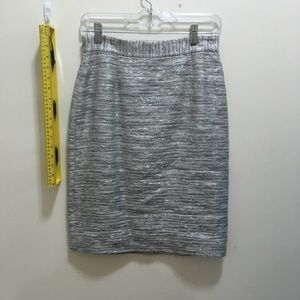 Kate spade silver sparkle skirt size 4 new no tags